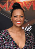 Aisha Tyler Photo - 04 March 2019 - Hollywood California - Aisha Tyler Captain Marvel Los Angeles Premiere held at El Capitan Theater Photo Credit Birdie ThompsonAdMedia