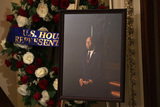 Alex Wong Photo - A portrait of United States Representative Elijah Cummings (Democrat of Maryland) is on display as the late congressman lies in state outside the US House chamber at the US Capitol October 24 2019 in Washington DC Rep Cummings passed away on October 17 2019 at the age of 68 from complications concerning longstanding health challenges Credit Alex Wong  Pool via CNPAdMedia