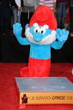 Papa Smurf Photo - 13 December 2011 - Hollywood California - Papa Smurf The Smurfs Hand and Footprint Ceremony held at Graumans Chinese Theatre Photo Credit Byron PurvisAdMedia