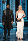 Margot Robbie Photo - 04 March 2018 - Hollywood California - Chadwick Boseman and Margot Robbie 90th Annual Academy Awards presented by the Academy of Motion Picture Arts and Sciences held at the Dolby Theatre Photo Credit AMPASAdMedia