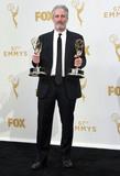 Jon Stewart Photo - 20 September 2015 - Los Angeles California - Jon Stewart 67th Annual Primetime Emmy Awards Press Room held at Microsoft Theater Photo Credit Theresa BoucheAdMedia