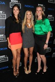 Nellie Spicer Photo - 10 July 2012 - Los Angeles California - Cynthia Barboza Nellie Spicer Heather Bown 4th Annual ESPN Body Issue Pre-ESPYS Party held at The Belasco Theater Photo Credit Byron PurvisAdMedia