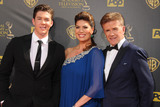 Alan Thicke Photo - 13 December 2016 - Burbank California - Alan Thicke beloved TV dad and real-life father of RB and pop superstar Robin Thicke died Tuesday at age 69 of a heart attack while playing hockey with his 19 year-old son Carter Thicke File Photo 26 April 2015 - Burbank California - Carter Thicke Tanya Callau Alan Thicke The 42nd Annual Daytime Emmy Awards - Arrivals held at Warner Bros Studios Photo Credit Byron PurvisAdMedia