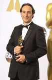 Alexandre Desplat Photo - 22 February 2015 - Hollywood California - Alexandre Desplat 87th Annual Academy Awards presented by the Academy of Motion Picture Arts and Sciences held at the Dolby Theatre Photo Credit AdMedia
