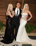 Nolan Funk Photo - 02 March 2014 - West Hollywood California - Donatella Versace Nolan Funk Lady Gaga 2014 Vanity Fair Oscar Party following the 86th Academy Awards held at Sunset Plaza Photo Credit Byron PurvisAdMedia