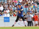 Allison Sweeney Photo - 07 June 2014 - Las Vegas Nevada - Allison Sweeney  2014  City of Hope Celebrity Softball Game at Hershel Greer Stadium Photo Credit MJTAdMedia