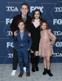 Ashley Boettcher Photo - 07 January 2020 - Pasadena California - Connor Kalopsis Jack Stanton Oakley Bull Ashley Boettcher FOX Winter TCA 2020 All Star Party held at Langham Huntington Hotel Photo Credit Birdie ThompsonAdMedia