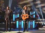 Alan Jackson Photo - 14 November 2017 - Nashville Tennessee - Chris Young Alan Jackson 2017 CMA Country Christmas held at the Grand Ole Opry House Photo Credit Laura FarrAdMedia