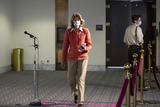 alaska Photo - United States Senator Lisa Murkowski (Republican of Alaska) leaves the GOP Senate luncheon at the Hart Senate Office Building in Washington DC US on Wednesday May 13 2020  Credit Stefani Reynolds  CNPAdMedia