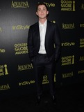 Logan Lerman Photo - 20 November 2014 - Los Angeles California - Logan Lerman Arrivals for HFPAInStyles Miss Golden Globes Announcement Party held at Fig  Olive in Los Angeles Ca Photo Credit Birdie ThompsonAdMedia