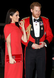 Albert Hall Photo - 07032020 - Prince Harry Duke of Sussex and Meghan Markle Duchess of Sussex at the Mountbatten Festival of Music held at the Royal Albert Hall in London Photo Credit ALPRAdMedia