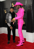 Usher Photo - 26 January 2020 - Los Angeles California - Usher Lil Nas X 62nd Annual GRAMMY Awards held at Staples Center Photo Credit AdMedia