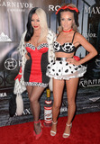 Aubrey ODay Photo - 23 October - Beverly Hills Ca - Aubrey ODay Shannon Bex Arrivals for  MAXIM Magazines Official Halloween Party held at a Private Residence Photo Credit Birdie ThompsonAdMedia