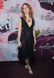 Alicia Witt Photo - 13 January 2018 - Pasadena California - Alicia Witt Hallmark Channel and Hallmark Movies  Mysteries Winter 2018 TCA Event held at Tournament House Photo Credit Birdie ThompsonAdMedia