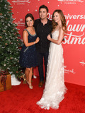 Jonathan Bennett Photo - 20 November 2019 - Hollywood California - Danica McKellar Jonathan Bennett Rachel Boston Hallmark Channels 10th Anniversary Countdown to Christmas - Christmas Under the Stars Screening and Party Photo Credit Billy BennightAdMedia