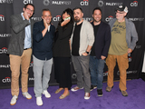 Andy Breckman Photo - 13 September 2019 - Beverly Hills California - (L-R) Dan Newmark Joe Gatto Jameela Jamil Brian Quinn Ben Newmark and Andy Breckman The Misery Index at The Paley Center For Medias 13th Annual PaleyFest Fall TV Previews - TBS Photo Credit Billy BennightAdMedia