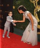 Nicolas Bechtel Photo - 1 May 2016 - Los Angeles California - Nicolas Bechtel Felisha Cooper 43rd Annual Daytime Emmy Awards - Arrivals held at the Westin Bonaventure Hotel Photo Credit Byron PurvisAdMedia