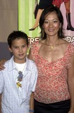 Rosalind Chao Photo - Rosalind Chao and son Roland at the premiere of Disneys Freaky Friday at the El Capitan Theater Hollywood CA 08-04-03