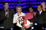 Adam Carolla Photo - Adam Carolla with Britney Spears and Antonio Villaraigosa  at the Debut of LA Lives Light of Angels LA Live Los Angeles CA 12-04-08