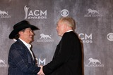 Jerry Jones Photo - George Strait Jerry Jonesat the 2014 Academy of Country Music Awards - Press Room MGM Grand Garden Arena Las Vegas NV 04-06-14