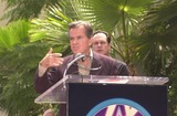 KC and the Sunshine Band Photo - Dick Clark at KC and The Sunshine Band induction ceremony into Hollywoods Walk of Fame Hollywood Blvd CA 08-02-02