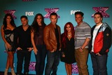 Ronnie Ortiz Magro Photo - Jenni Farley Ronnie Ortiz-Magro Sammi Giancola Mike Sorrentino Nicole Polizzi Paul DelVecchio Vinny Guadagninoat The X Factor Season Finale Night 1 CBS Televison City Los Angeles CA 12-19-12