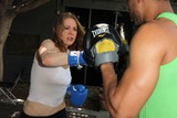 Aaron Hines Photo - Maitland Ward and Trainer Aaron HinesMaitland Ward works out in preparation for a starring role in an upcoming sci-fi action movie slated to begin shooting in November Cyclehouse and Lift West Hollywood CA 09-17-14