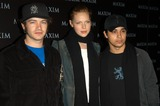 Danny Masterson Photo - Danny Masterson Laure Prepon and Wilmer Valderrama at Maxim Magazines presentation of the Pussycat Dolls Henry Fonda Theater Hollywood CA 12-03-02