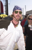 911 Photo -  LEIF GARRETT at the celebrity recording of We Are Family to benefit the victims of New Yorks 9-11 tragedy 09-23-01