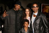 Tupac Photo - Big Syke with Mario Van Peebles and family at the premiere of Paramount Pictures Tupac Resurrection at the ArcLight Theaters Hollywood CA 11-04-03