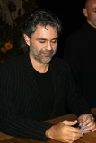 Andrea Bocelli Photo - Andrea Bocelli at an in-store for the release of his new album Intimate and Seductive at Borders Westwood CA 11-15-04
