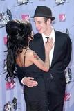 Amy Winehouse Photo - Amy Winehouse and husband Blakearriving at the 2007 MTV Movie Awards Gibson Amphitheatre Universal City CA 06-03-07