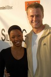 Angel Parker Photo - Angel Parker and Eric Nenininger at The Grand Opening of the Silvia Galvan Hair Studio Silvia Galvan Hair Studio Beverly Hills Calif 06-24-03