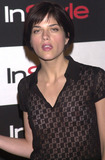 Avant Photo -  SELMA BLAIR at the InStyle Magazines exhibition of avante-garde artist Bryten Goss work Quixote Studios West Hollywood 06-28-01