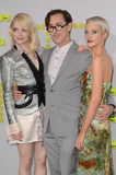 Alan Cummings Photo - Emma Stone Alan Cumming Andrea Riseboroughat the Battle of the Sexes Premiere Village Theater Westwood CA 09-16-17