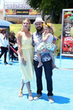 AJ Buckley Photo - A J Buckley Abigail Ochse Willow Phoenix Buckleyat the premiere of The Emoji Movie Village Theater Westwood CA 07-23-17