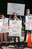 Jason Thomas Photo - Terri Thomas Jason Thomas Gordon Jesse Koveat a protest involving Casey Kasems children brother and friends who want to see him but have been denied any contact  Private Location Holmby Hills CA 10-01-13