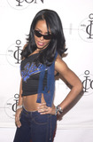 Aaliyah Photo -  Aaliyah at the first annual MTVicon awards held at Sony Studios Culver City 03-09-01