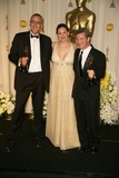Mike Hopkins Photo - Ethan Van der Ryn with Jennifer Garner and Mike Hopkinsin the press room at the 78th Annual Academy Awards Kodak Theatre Hollywood CA 03-05-06