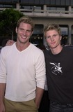 Thad Luckinbill Photo - Ryan McPartlin and Thad Luckinbill at the premiere of Warner Brothers Eight Legged Freaks at the Chinese Theater Hollywood 07-16-02