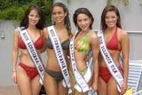 Alaska  Photo - Melissa Marie McConnell Miss Louisiana Nicole Georghalli Miss Pennsylvania Cari Makanani Villareal Leyva Miss Alaska and Molly Graham Miss Illinois