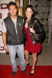 Adam Beach Photo - Adam Beach and wife Tara at the one year anniversary of White Lotus Hollywood CA 03-19-04