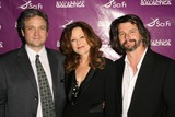 Ronald D Moore Photo - David Eick with Mary McDonnell and Ronald D Moore at the Envelope Screening Series of Battlestar Galactica Mann 6 Theaters Hollywood CA 06-04-09