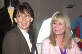 Sarah Douglas Photo -  Sarah Douglas and Valerie Perrine at the check presentation by Warner Home Video to the Christopher Reeve Paralysis Foundation to commemorate the release of Superman The Movie on DVD Warner Brothers Studios Burbank 05-01-01