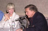 Anne Francis Photo - Anne Francis and Cliff Robertson at a Twilight Zone reunion and convention at the Beverly Garland Holiday Inn North Hollywood CA 08-24-02