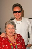ANN V Photo - James Hickox and mother Anne V Coates