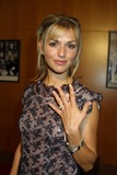 Andrea Elmer Photo - Andrea Elmer shows off the engagement ring she got from David Faustino at Vanity Fairs 20th Anniversary Reel Talk celebrating the iconic films of the 20th Century Directors Guild of America Los Angeles CA 09-18-03