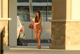 Alicia Arden Photo - Alicia Ardenthe Baywatch actress is spotted in a yellow micro-bikini going to a tanning salon in Los Angeles CA 09-11-18