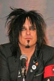 Nikki Sixx Photo - Nikki Sixx at the announcement that all the original members of Motley Crue reunite for the Red White  Crue Tour 2005 Better Live Than Dead Motley Crue also perform a mini concert for lucky fans at The Palladium Hollywood CA 12-06-04