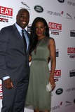 Amma Assante Photo - Adewale Akinnuoye-Agbaje Amma Assanteat the 2014 GREAT British Oscar Reception British Residence Los Angeles CA 02-28-14